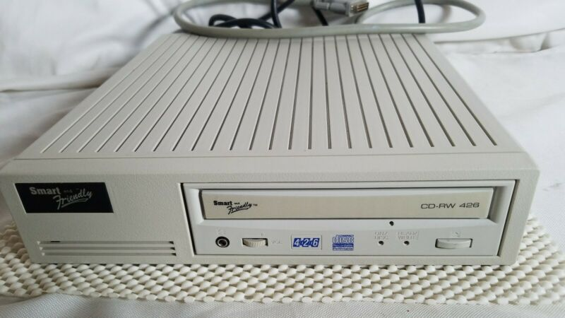 🔴 Smart and Friendly CD-RW 426 SCSI Drive CD-ROM Fully functional