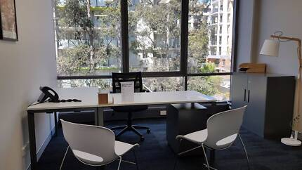EXECUTIVE WINDOW OFFICE - FLEXIBLE LEASE TERMS