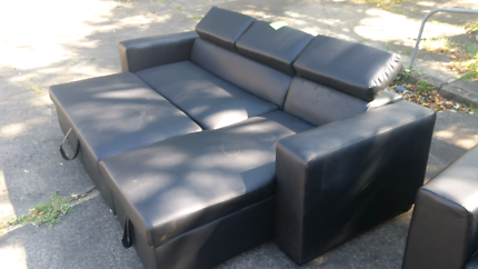 Bonded Leather lounge