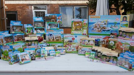 Cheap! Sylvanian Families 30% off RRP wide range brand new