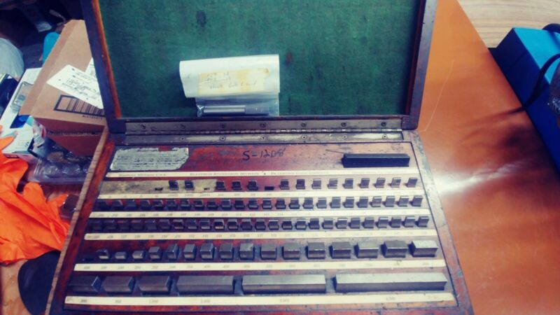Dearborn Gage Co. Ellstrom 86 PC Gage set.100025 - 4.000 Missing 3 Gages