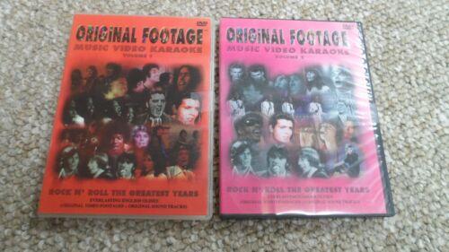 Original Footage Music Video Karaoke Volume 1 & 2 DVDs