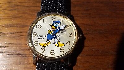 Vintage Bradley Disney Donald Duck Commemorative Birthday Watch New never used