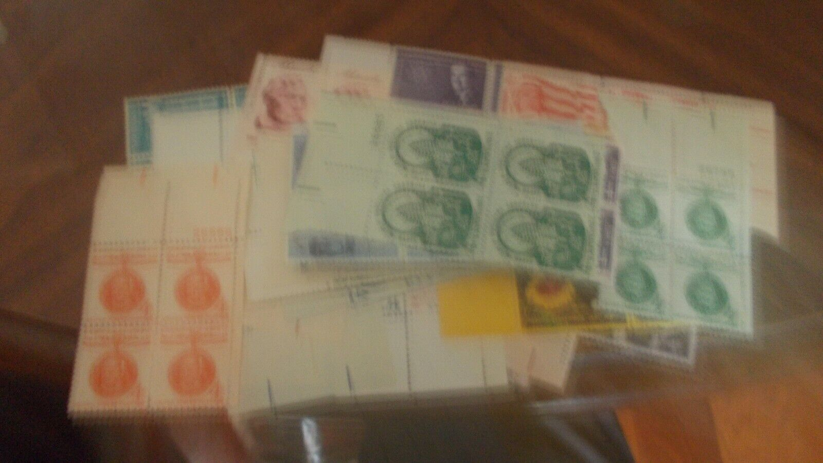 PLATE BLOCKS, U.S. GREAT COLLECTION OF 100 DIFF. MNH .03 TO .15 - $19.99