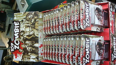TRADE BOX OF 24 X TOP ZOMBIE PLAYING CARDS  AGES 14 PLUS