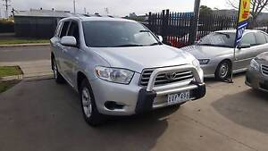 2008 Toyota Kluger Wagon KX-R AUTO Williamstown North Hobsons Bay Area Preview