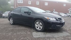 2014 Honda Civic LX Off lease from Honda with Bluetooth and Hill