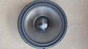 """Woofer 12"""" carbon fibre cone 200WRMS - Two available St Ives Ku-ring-gai Area Preview"""