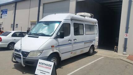 MERCEDES SPRINTER 2 BERTH TOILET/ SHOWER SOLAR 12 MTHS WARANTY Wangara Wanneroo Area Preview