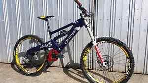 Orange 224 downhill bike Moe Latrobe Valley Preview