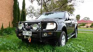 Loaded 2008 D40 Nissan Navara ST-X 4WD Ute Collinswood Prospect Area Preview