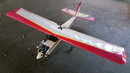 RC Plane Aircraft With OS Engine