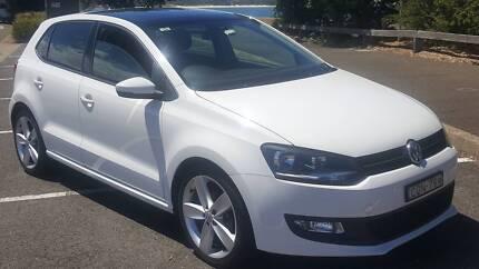 VW Polo 2013 sunroof
