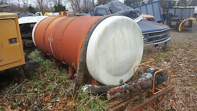 1000 Gallon Truck Mounted Tank Water Skid Mounted
