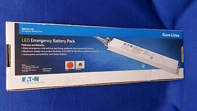 Eaton Ebpled14w Emergency Lighting Led Battery Pack Nicd 16-55v 14w 120277v