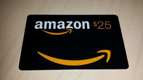 Amazon Gift Card 25 On Card - $25.00