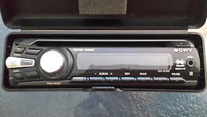 SONY car Stereo/CD player Gosnells Gosnells Area Preview