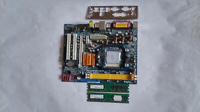 Asrock AliveNF6P-VSTA Mainboard mit CPU, Speicher, I/O Blende, gebraucht gebraucht kaufen  Berlin