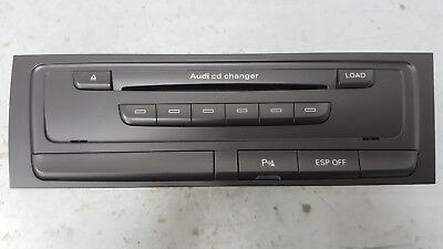 AUDI A4 B8 8K 08/16 6 DISC CD CHANGER UNIT ESP / PARK SENSOR SWITCHES 8T2035110C