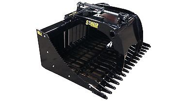 48 Skid Steer Single Grapple High Quality. Compact Tractor Free Shipping