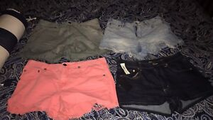 Free people&AritziaWilfred free high waisted shorts