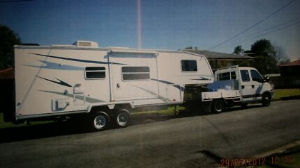 2009 Cutloose Fifth Wheeler  separately 2011 Iveco Truck 43,000km Tugun Gold Coast South Preview