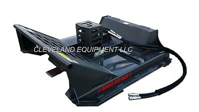 72 Cid X-treme Open Front Brush Cutter Attachment Skid Steer Loader 17-27 Gpm
