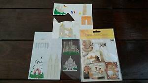 Assorted Travel Papers and Stickers, Scrapbooking Bayswater Bayswater Area Preview