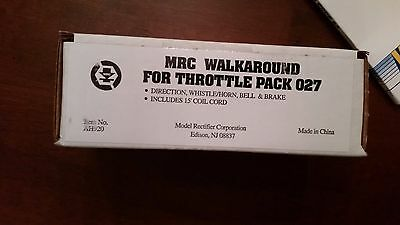 MRC Walkaround For Throttle Pack 027 NIB AH920