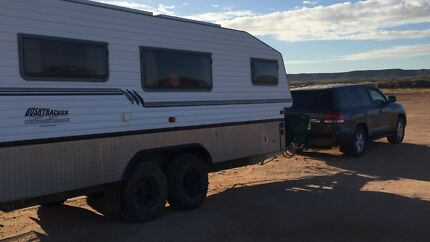 21' Bushtracker Off Road Caravan Family - sleeps 5-6