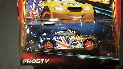 Disney Pixar Cars Frosty Neon Racers 2014 Benefit Sale Save 5  Worldwide Fast Sh