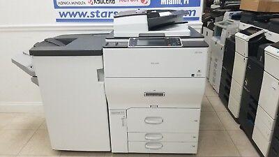 Ricoh Mp C6502 Color Tabloid Copier Printer Scanner All-in-one Aficio 65ppm