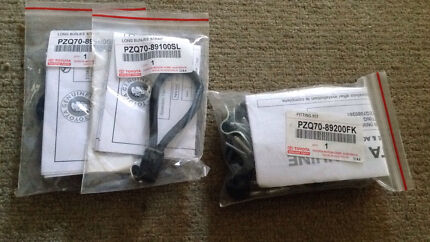 Toyota hilux soft tonneau cover straps fitting kit