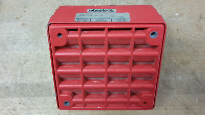 Nice Working Wheelock ET-1010 Heavy Duty Vandal Proof Fire Alarm Speaker Box for sale  Shipping to India