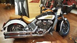 2018 Indian Motorcycles Scout ABS ICON SRIES THUNDER BLACK WHITE