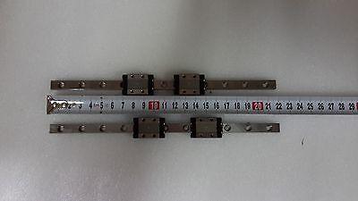 Nsk Linear Ts Lu09ts 22cm Lot Of 2