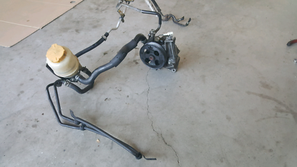2002 wrx power steering pump setup