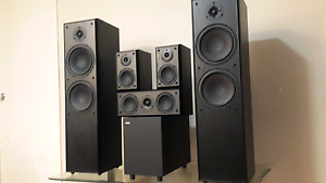 Jamo 5.1 Speaker set - Quality at an absolute Bargain Canning Vale Canning Area Preview