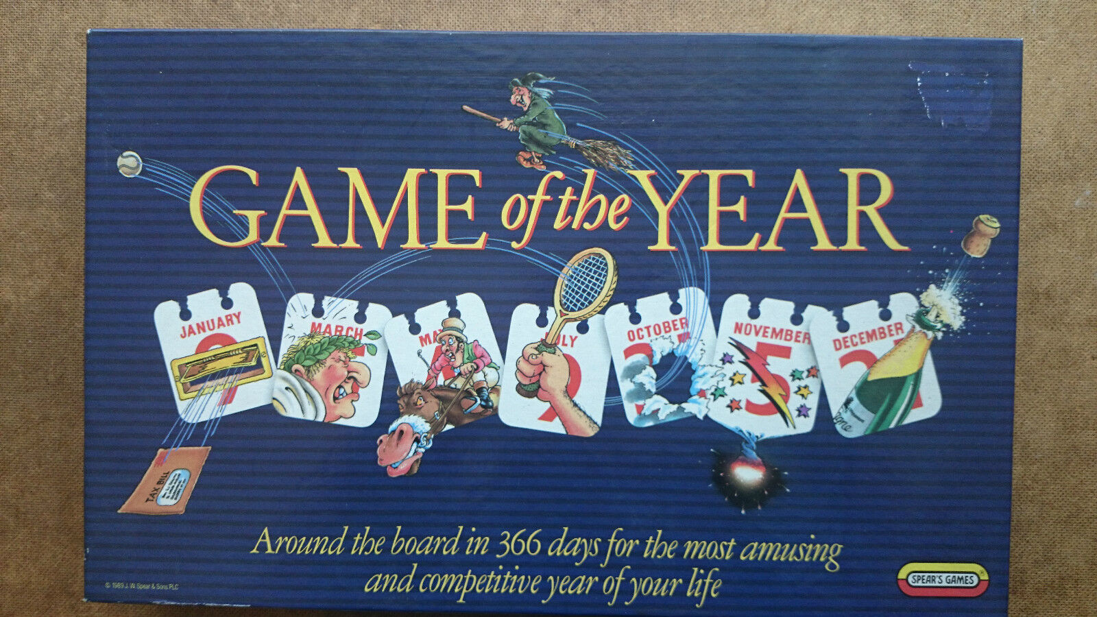Game of the Year Board Game by Spears 1989