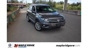 2015 Volkswagen Tiguan - ALL-WHEEL DRIVE, BROWN LEATHER, TONS OF