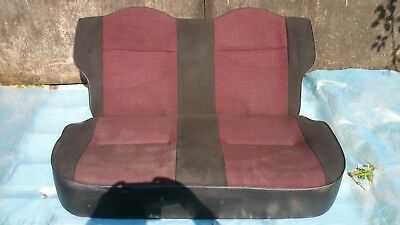 Citroen Saxo Furio rear seat bench. Furio mk2 00-04 trim pattern. 3dr Saxo seat