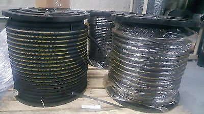 HYDRAULIC HOSE 100 FT R2T06 3/8 SAE W.P. PSI 4800 2WIRE FREE