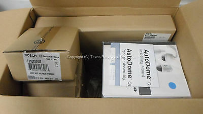 New Open Box - Bosch Vg4-221-cts Autodome Ptz In-ceiling Camera System