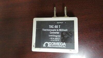 Omega Tac-80-t Thermocouple To Millivolt Converter