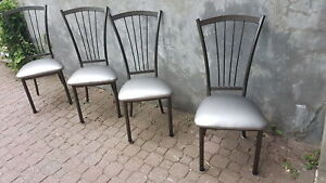 4 chaises de cuisine siège neuf ! 4 chairs with new seats