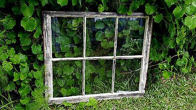 VINTAGE SASH ANTIQUE WOOD WINDOW UNIQUE FRAME PINTEREST ETSY PAINTED 32X27