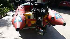 Surf rescue irb not zodiac inflatable Buderim Maroochydore Area Preview