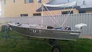 2005 Dinghy/tinny 3.55m arrow roof topper 8hp yamaha Ridgewood Wanneroo Area Preview