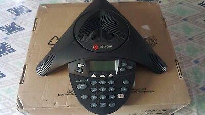 Polycom Soundstation 2 2201-16000-001 Conference Phone Read