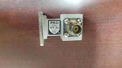 PRD Type 648 Waveguide to Coax Adapter
